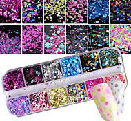 Недорогие -Гель для ногтей Пайетки Аксессуары Классика Элегантный и роскошный Мода Высокое качество Повседневные Дизайн ногтей