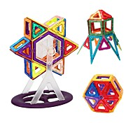 cheap -Magnetic Building Blocks / Tiles 62pcs Transformable Kid's Toy Gift