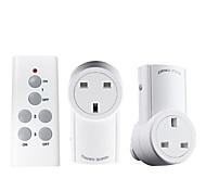 preiswerte -Intelligente Fernbedienung Steckdose UK Standard-HF-Fernbedienung für Smart Home Wireless Remote Steckdose Stecker