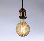 cheap -1pc 40W E26/E27 G95 Warm White 2300 K Retro Dimmable Decorative Incandescent Vintage Edison Light Bulb AC 220-240V V