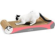 Недорогие -Игрушка для котов Игрушки для животных Выцарапывание Все для работы с бумагой Художественная печать Разные цвета Когтеточка Способствует