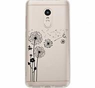 cheap -Case For Xiaomi Redmi Note 4X Redmi Note 4 Pattern Back Cover Dandelion Soft TPU for Xiaomi Redmi Note 4X Xiaomi Redmi Note 4