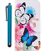 cheap -Case For Samsung Galaxy S9 S9 Plus Card Holder Wallet with Stand Flip Magnetic Full Body Cases Butterfly Hard PU Leather for S9 Plus S9