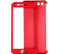 cheap -Case For Huawei P9 P10 Shockproof Full Body Cases Solid Color Hard PC for P10 Huawei P9