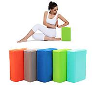 cheap -Yoga Blocks EVA Yoga Pilates Gym Women's Children's Unisex Sky Blue Green Blue Pink Violet