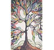 Недорогие -Кейс для Назначение SSamsung Galaxy Tab E 9.6 Бумажник для карт со стендом Флип С узором Чехол дерево Твердый Кожа PU для Tab E 9.6