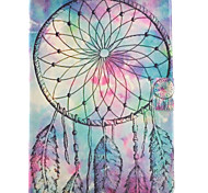 cheap -Case For Samsung Galaxy Tab S2 9.7 Card Holder with Stand Flip Pattern Auto Sleep/Wake Up Full Body Cases Dream Catcher Hard PU Leather