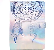 cheap -Case For Samsung Galaxy Tab S2 9.7 Card Holder Wallet with Stand Pattern Auto Sleep/Wake Up Full Body Cases Dream Catcher Hard PU Leather