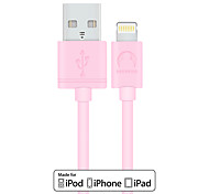 cheap -Lightning USB Cable Adapter Quick Charge Cable For iPhone 120 cm PVC