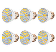 abordables -YWXLIGHT® 6pcs 7W 500-700 lm E26/E27 Focos LED 72 leds SMD 2835 Blanco Cálido Blanco Fresco Blanco Natural 110-130V 220-240V