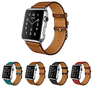 cheap -Watch Band for Apple Watch Series 3 / 2 / 1 Apple Leather Loop Genuine Leather Wrist Strap