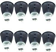 Недорогие -8шт 4.5W 600lm MR16 Точечное LED освещение 1 Светодиодные бусины COB Тёплый белый Холодный белый 12V