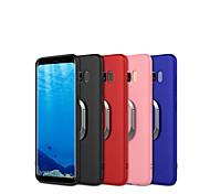 Недорогие -Кейс для Назначение SSamsung Galaxy S9 S9 Plus Кольца-держатели Матовое Кейс на заднюю панель броня Мягкий ТПУ для S9 Plus S9 S8 Plus S8
