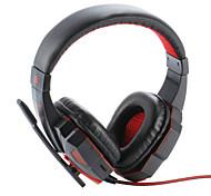 Недорогие -Plextone PC780 Над ухом Головная повязка Проводное Наушники пластик Игры наушник Шумоизоляция С микрофоном С регулятором громкости