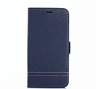 cheap -Case For Xiaomi Mi Max 2 Mi 5X Card Holder with Stand Full Body Cases Solid Color Hard Genuine Leather for Xiaomi Mi Max 2 Xiaomi Mi 5X