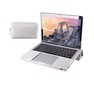 """Недорогие -Сумка для хранения / Рукава Однотонный Кожа PU для Новый MacBook Pro 13"""" / MacBook Air, 13 дюймов / MacBook Pro, 13 дюймов"""