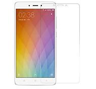 preiswerte -Displayschutzfolie XIAOMI für Xiaomi Redmi Note 4 Hartglas 1 Stück Vorderer Bildschirmschutz Kratzfest 2.5D abgerundete Ecken 9H