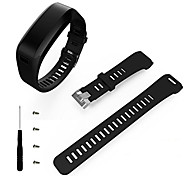 cheap -Watch Band for Vivosmart HR Garmin Sport Band Silicone Wrist Strap