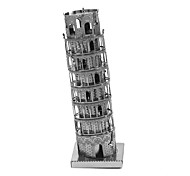 cheap -3D Puzzles Creative Focus Toy Hand-made Architecture Standing Style Toy Gift