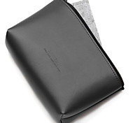 cheap -Storage Bags for Solid Color PU Leather Power Supply Flash Drive Power Bank Hard Drive Headphone/Earphone