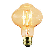 cheap -1pc 40W E26 / E27 D80 Incandescent Vintage Edison Light Bulb 220-240V