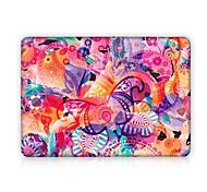 """Недорогие -MacBook Кейс Цветочные / ботанический пластик для Новый MacBook Pro 15"""" / Новый MacBook Pro 13"""" / MacBook Pro, 15 дюймов"""