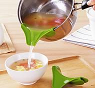 abordables -Outils de cuisine Plastique Creative Kitchen Gadget / Nouveautés entonnoir Pour Ustensiles de cuisine 1pc