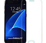 cheap -Screen Protector Samsung Galaxy for S7 Tempered Glass 2 pcs Full Body Screen Protector Explosion Proof 2.5D Curved edge 9H Hardness
