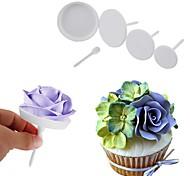 abordables -Outils de cuisson Plastique Vacances / Creative Kitchen Gadget / La Saint Valentin Pour Ustensiles de cuisine Outils de desserts 4pcs
