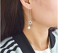 cheap -Drop Earrings - Sun Fashion Silver For Daily / Date