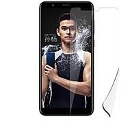 Недорогие -Защитная плёнка для экрана Huawei для Honor 7X PET 1 ед. Защитная пленка для экрана Защита от царапин Ультратонкий Взрывозащищенный