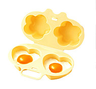 cheap -Kitchen Tools PP Creative Kitchen Gadget Best Quality Egg DIY Mold 1pc