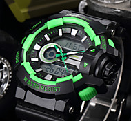 cheap -SHIFENMEI Men's Digital Sport Watch Japanese Calendar / date / day Water Resistant / Water Proof Large Dial Casual Watch Plastic Band