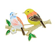 cheap -Brooches - Bird Basic, Fashion Brooch Gold For Daily / Date