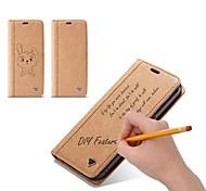 Недорогие -Кейс для Назначение SSamsung Galaxy S9 S9 Plus Бумажник для карт Кошелек Флип Своими руками Чехол Однотонный Твердый Кожа PU для S9 Plus