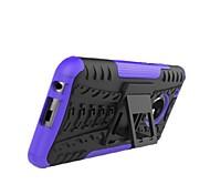 Недорогие -Кейс для Назначение Motorola G5 G5 Plus Защита от удара со стендом броня Кейс на заднюю панель Плитка броня Твердый ПК для Moto Z2 play