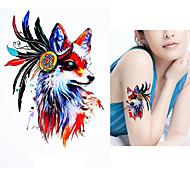 cheap -5pcs Stickers & Tapes / Sticker Animal Series Tattoo Stickers