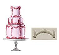 Недорогие -Инструменты для выпечки Силикон Своими руками Креатив Новое поступление День рождения Для торта Для приготовления пищи Посуда Cupcake