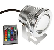 cheap -YouOKLight 1pc 10W Underwater Lights Remote Controlled Decorative RGB 12V Swimming pool