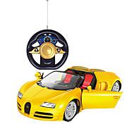 Недорогие -Машинка на радиоуправлении 2-Kанальн. 2.4G Автомобиль 1:24 Бесколлекторный электромотор 8-10km/h КМ / Ч