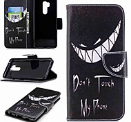 cheap -Case For LG K10 2018 / G7 Card Holder / Wallet / with Stand Full Body Cases Word / Phrase Hard PU Leather for LG V30 / LG V20 / LG Q6