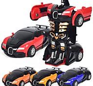 Недорогие -Игрушечные машинки Автомобиль / Робот трансформируемый / Cool Металлический сплав Детские Подарок 1pcs