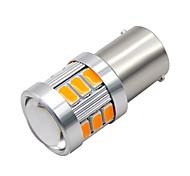 abordables -SO.K 2pcs 1156 Motocicleta / Coche Bombillas 3W SMD 5730 300lm 18 LED Luz de Circulación Diurna / Luz de Intermitente / Motocicleta For