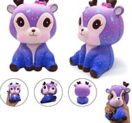 cheap -LT.Squishies Squeeze Toy / Sensory Toy Deer / Galaxy Starry Sky New Design / Stress and Anxiety Relief / Decompression Toys PEVA 1pcs