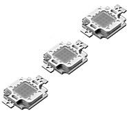 Недорогие -ZDM® 3шт Мощный светодиод Аксессуары для ламп LED чип / Светодиодный свет Алюминий / Светодиодный индикатор чистого золота для