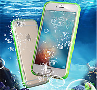 cheap -Case For Apple iPhone 8 Plus / iPhone 7 Shockproof / Waterproof / Transparent Full Body Cases Solid Colored Soft TPU for iPhone 8 Plus /