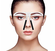 cheap -1pcs pcs Eyebrow Stencil Stainless Steel Eye / Face Portable / Universal Professional Level / Portable Make Up