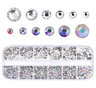 Недорогие -1 pcs Инвентарь металлический Хрусталь Свадьба / Вечерние / На каждый день Дизайн ногтей / Комплект сверла для ногтей