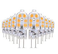 Недорогие -YWXLIGHT® 10 шт. 3W 200-300lm G4 Двухштырьковые LED лампы T 12 Светодиодные бусины SMD 2835 Тёплый белый / Холодный белый / Естественный