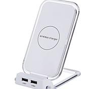 Недорогие -Беспроводное зарядное устройство Зарядное устройство USB Универсальный с кабелем / Несколько разъемов / Беспроводное зарядное устройство 2 USB порта 2 A DC 5V iPhone X / iPhone 8 Pluss / iPhone 8